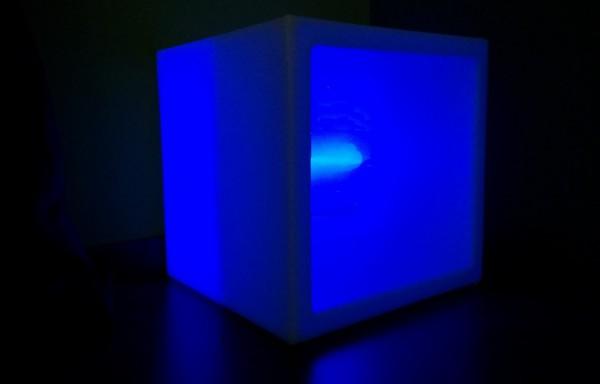 Cubo de led balda APAL 40cm