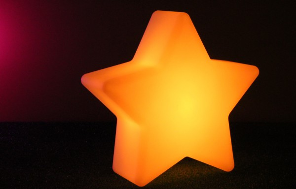 Estrella de leds RGB IZAR 25x11cm