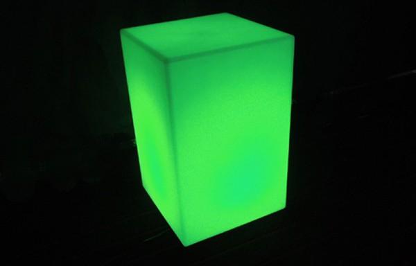 Cubo de led DOR 25x25x40cm