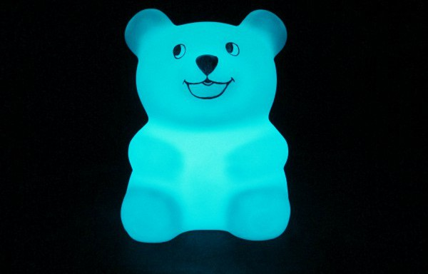 Lampara de LED PANDA 28x28x33cm